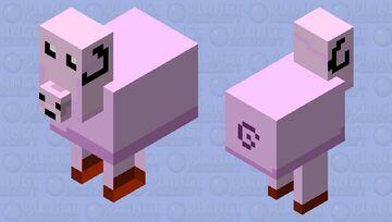 свинаутка Minecraft Mob Skin