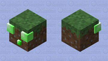 Grassy Ooze Minecraft Mob Skin