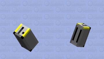Birb Toaster [Gray] Minecraft Mob Skin