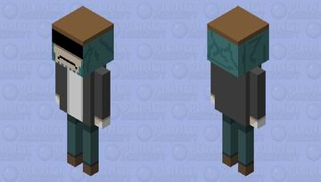 Garcello (friday night funkin) Minecraft Mob Skin