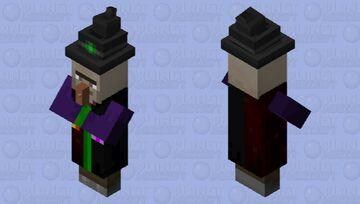 Dimension witch Minecraft Mob Skin