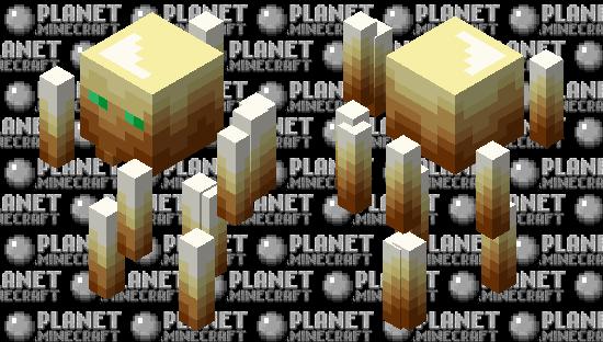 Totem-Palette Blaze Minecraft Skin