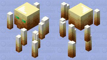 Totem-Palette Blaze Minecraft Mob Skin