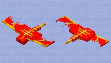 Fire Phantom (Fire mob #2) Minecraft Mob Skin