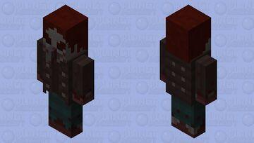 Cannibal Vindicator (𝕱𝖔𝖗𝖇𝖎𝖉𝖉𝖊𝖓 𝕾𝖔𝖚𝖑𝖘) Minecraft Mob Skin