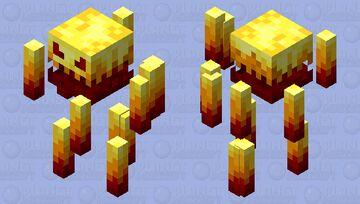 Scarier Blaze Minecraft Mob Skin