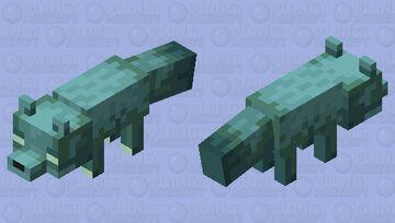 Glow Fox Minecraft Mob Skin
