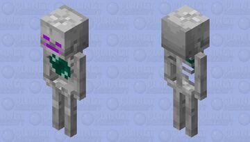 End Skeleton Minecraft Mob Skin