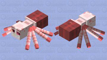 Cursed spider angel dust Minecraft Mob Skin