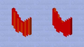 striped devil wings Minecraft Mob Skin