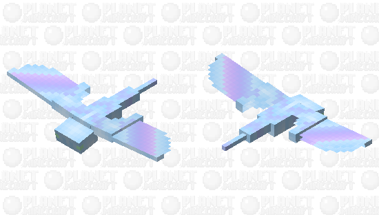 ✧ Soft Pastel Phantom Skin ✧ Minecraft Skin