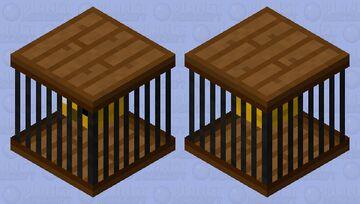 Bird in a Cage Minecraft Mob Skin
