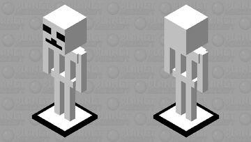 skinny skeleton Minecraft Mob Skin
