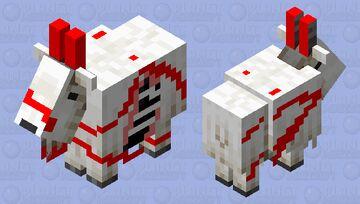Dead goat Minecraft Mob Skin