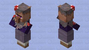Mushroom Island Villager - Biome Swap Mob Skin Entry Minecraft Mob Skin