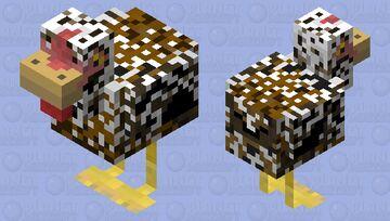 Swedish Flower Hen Minecraft Mob Skin