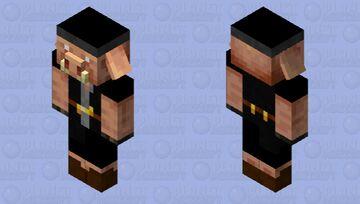 Gangster piglin Minecraft Mob Skin