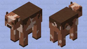 Badlands Cow Minecraft Mob Skin