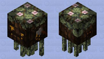 The Crying Stump (Deforestation Awareness) Minecraft Mob Skin