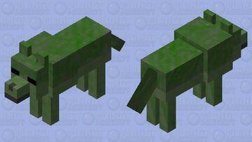 Zombie wolf 2 Minecraft Mob Skin