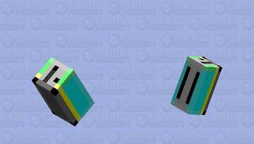 Birb Toaster [Yellow-Blue] Minecraft Mob Skin