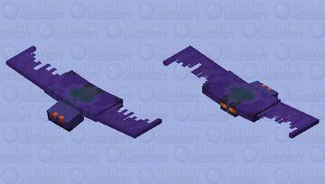 Marvel - 90s Green Goblin Glider (V1) Minecraft Mob Skin