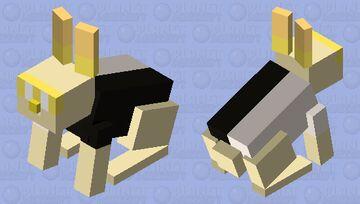 gold teddy Minecraft Mob Skin