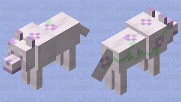 Flower Doggo Pup Minecraft Mob Skin