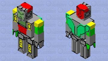 OMEGA SUPREME GOLEM Minecraft Mob Skin