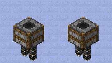 Smoker (Cold) Minecraft Mob Skin