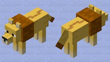 lion Minecraft Mob Skin