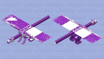 bad purple dragon Minecraft Mob Skin