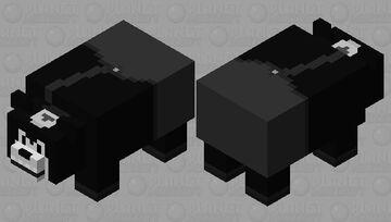 Pete (Steamboat Willie) Minecraft Mob Skin