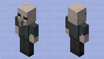 Cillager(Base)(Re Texturing) Minecraft Mob Skin