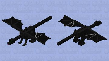 TOOTHLESS Minecraft Mob Skin