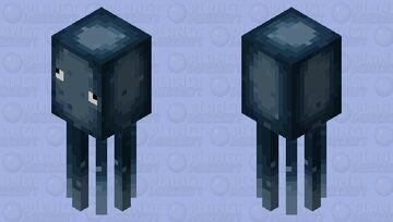 Glow squid stlye squid Minecraft Mob Skin