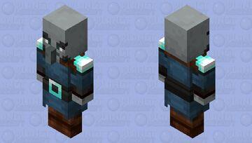 The Captain Illager (Pillager) (Retexture) (ver.2) Minecraft Mob Skin