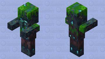 Dark Drowned Dillager / Minecraft Dungeons Minecraft Mob Skin
