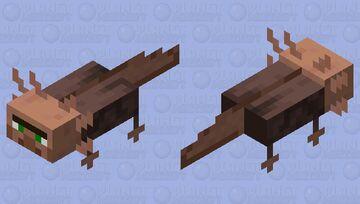 Sea Villager/Vill-olotl Minecraft Mob Skin