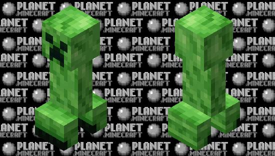 Creeper Rexture Minecraft Skin