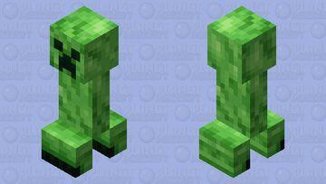 Creeper Rexture Minecraft Mob Skin