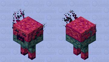 Retro Forest Strider Minecraft Mob Skin