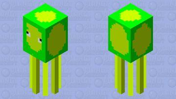 ACIDIC SQUID Minecraft Mob Skin