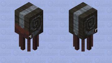 Ammonoidea Minecraft Mob Skin
