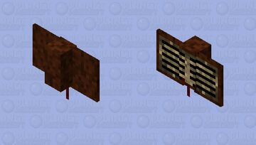 Small Flying Book Minecraft Mob Skin