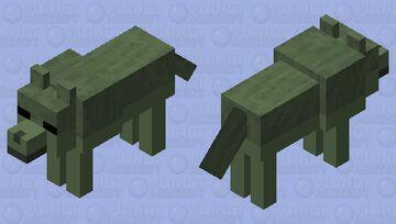 Zombie wolf 3 Minecraft Mob Skin