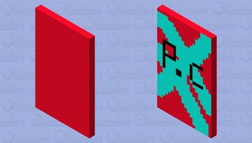 |Mob Pack| Default Cape (Parrot City) Minecraft Mob Skin