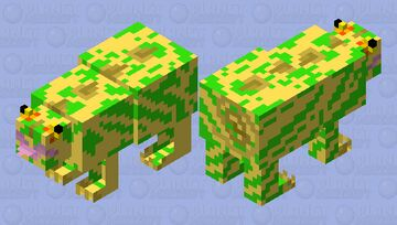 Stealth Sneak Heartless Chameleon (Kingdom Hearts 1) Minecraft Mob Skin