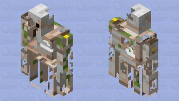 Broken golem Minecraft Mob Skin