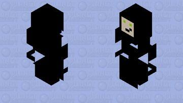 Glitchy Among Us Minecraft Mob Skin